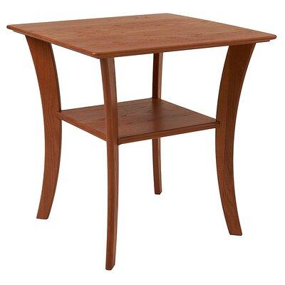 Contemporary End Table Finish: Golden Oak