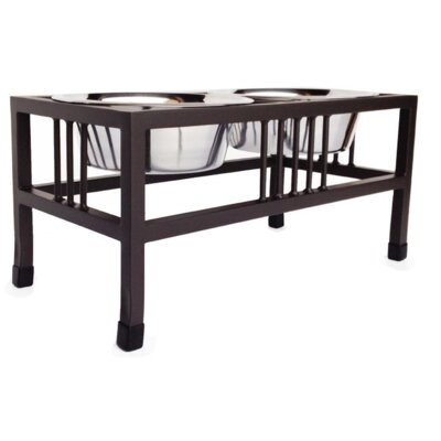 Baron Steel Double Diner Color: Mocha, Capacity: X-Large (3 qt.)