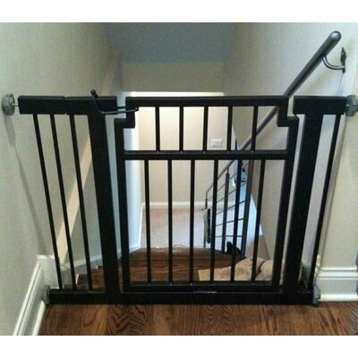 Pet Gate Extension Finish: Black
