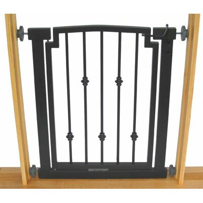 Hansel Emperor Rings Pet Gate Size: Small (32 H x 34 W x 1 D), Finish: Mocha