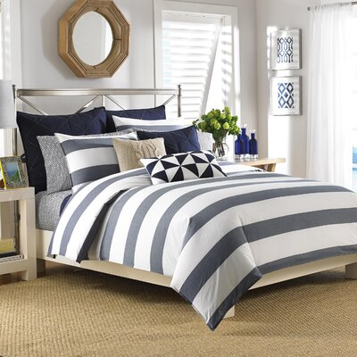 Lawndale Reversible Duvet Cover Set Size: King