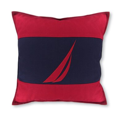 J Class 18 Crew Decorative Throw Pillow Color: Navy/Red
