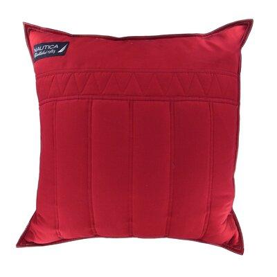 Mainsail 18 Decorative Throw Pillow Color: Red