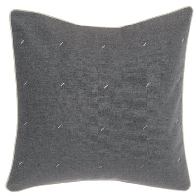 Longitude Quilted Decorative Cotton Throw Pillow