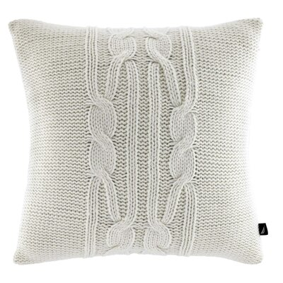Bartlett Cotton Throw Pillow Color: Ivory
