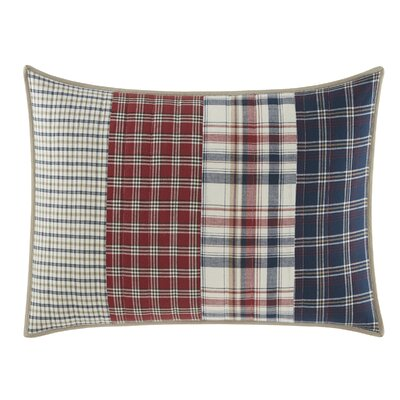 Ansell Pieced Cotton Quilted Standard Sham