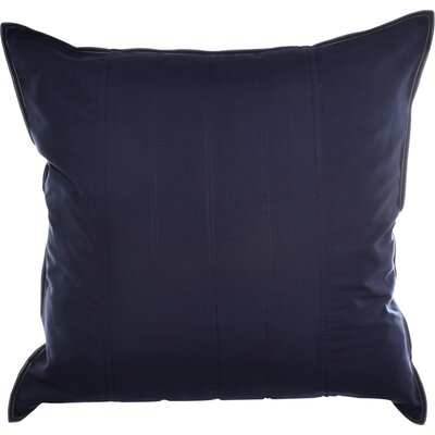 Mainsail Quilted European Sham Color: Navy