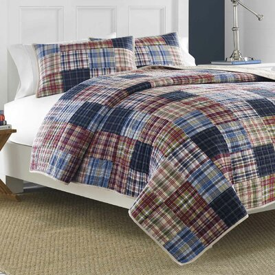 Blaine Cotton Quilt Size: King