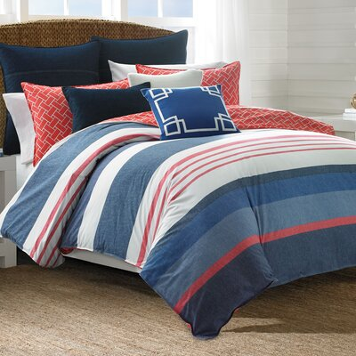 Hawes Reversible Comforter Set Size: Full/Queen
