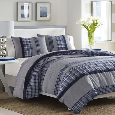 Adelson Reversible Comforter Set Size: Twin
