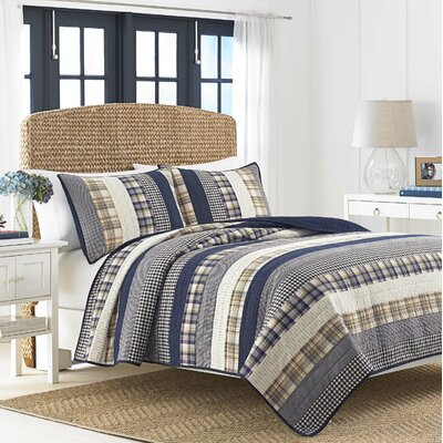 Rangley Cotton Quilt Size: Twin
