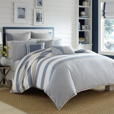 Fairwater Reversible Duvet Set Size: Full/Queen