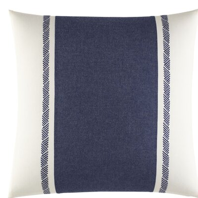 Cunningham Embroidered 100% Cotton Throw Pillow