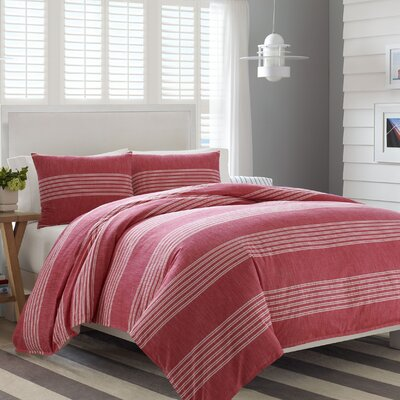 Trawler Reversible Comforter Set Size: King