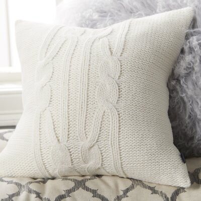 Seaward Knit Cable Throw Pillow