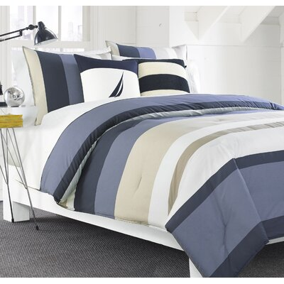 Grand Bank Reversible Comforter Set Size: Full/Queen