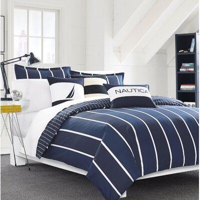 Knots Bay Reversible Comforter Set Size: Full/Queen