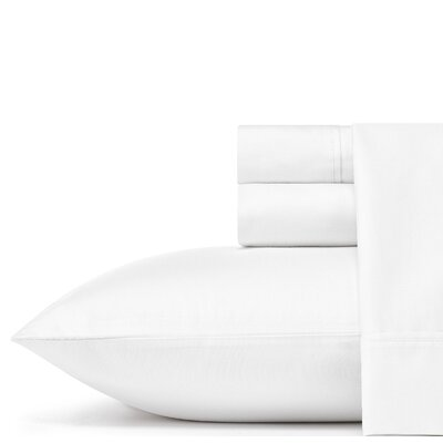 Soild Sheet 100% Cotton Sheet Set Color: White