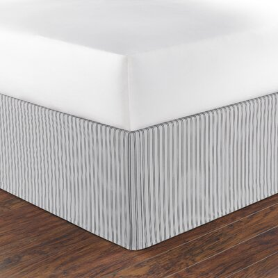 Maywood Stripe Bed Skirt Size: King