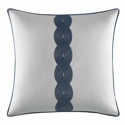 Cape Coral Rope Embroidery Cotton Throw Pillow