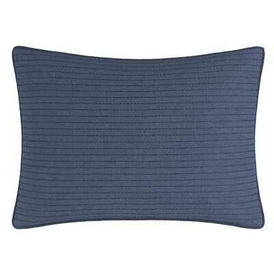 Lockridge Quilted Linen Breakfast Pillow