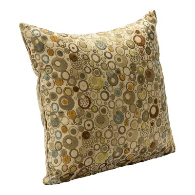 Marble Throw Pillow Size: 26