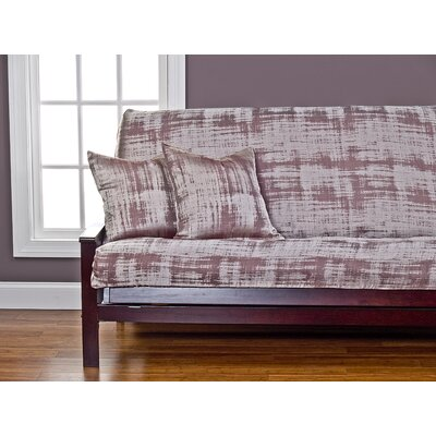 Dominick Box Cushion Futon Slipcover Size: Queen