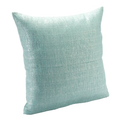 Alivia Throw Pillow Size: 16, Color: Aqua