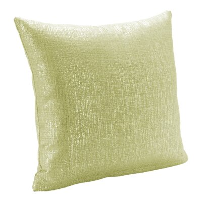Sparkly Throw Pillow Size: 16, Color: Chardonay