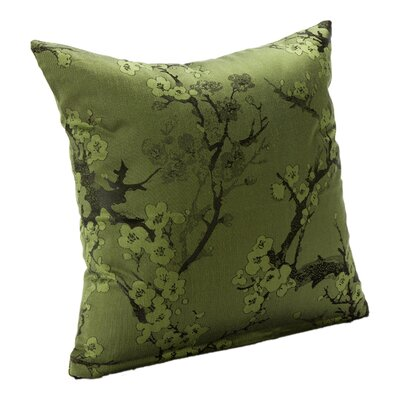 Bryant Throw Pillow Size: 16, Color: Clover