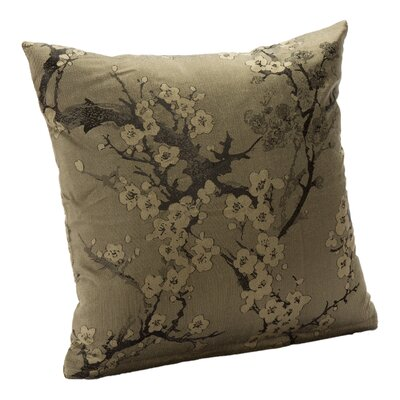 Bryant Throw Pillow Size: 16, Color: Haze