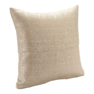 Sparkly Throw Pillow Size: 20, Color: Mushroom
