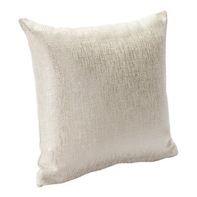 Sparkly Throw Pillow Size: 16, Color: Pearl