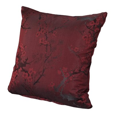 Bryant Throw Pillow Size: 16, Color: Brick