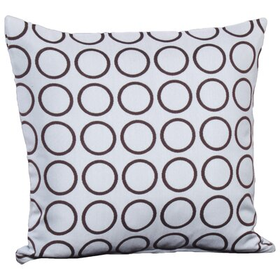 Araujo Throw Pillow (Set of 2) Size: 20 x 20