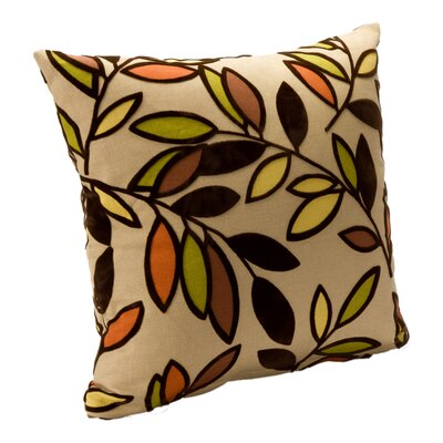 Arnwine Throw Pillow Size: 16, Color: Jewel
