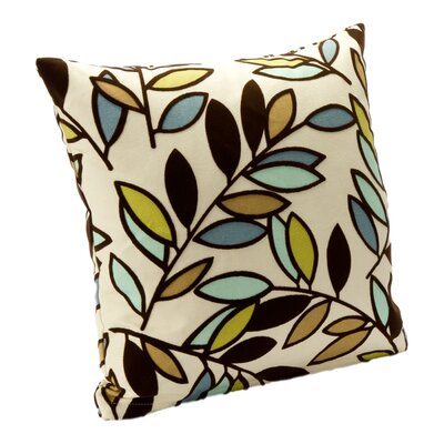 Kirby Throw Pillow Size: 16, Color: Lapis
