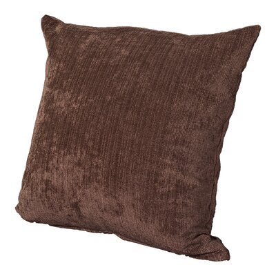 Marcelle Throw Pillow Size: 16, Color: Vintage Cognac