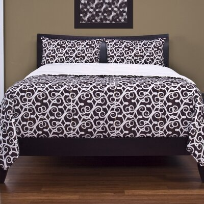 Degory 3 Piece Duvet Cover Set Size: King