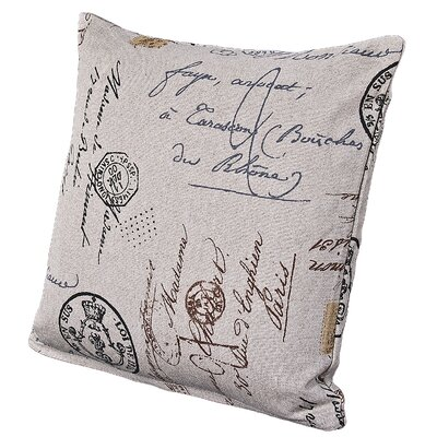 Versailles Throw Pillow Size: 20