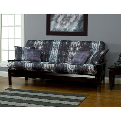 Madalyn Zipper Box Cushion Futon Slipcover Size: 7 in. Full
