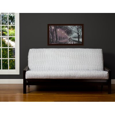 75 Zipper Box Cushion Futon Slipcover Size: Twin
