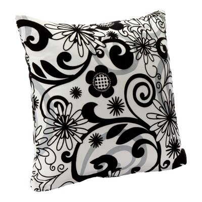 Efflorescence Throw Pillow Size: 16