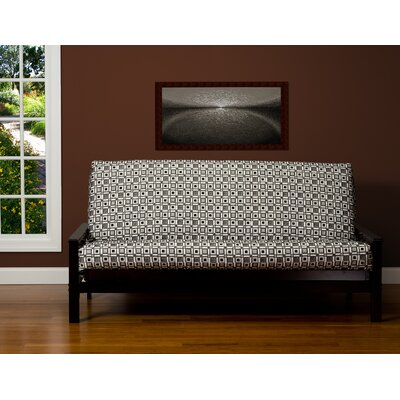 Box Cushion Futon Slipcover Size: 6 in. Full