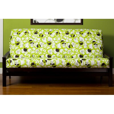 Arevalo Box Cushion Futon Slipcover Size: Twin