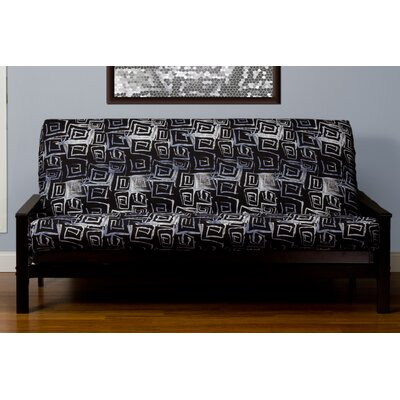 Archambault Zipper Box Cushion Futon Slipcover Size: Twin