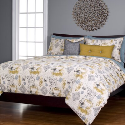 Athan Meritage Duvet Cover Set Size: Full