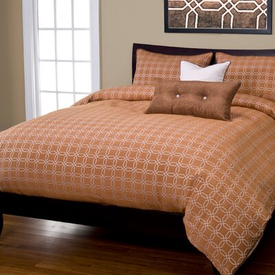 Mandarin Duvet Cover Set Size: California King