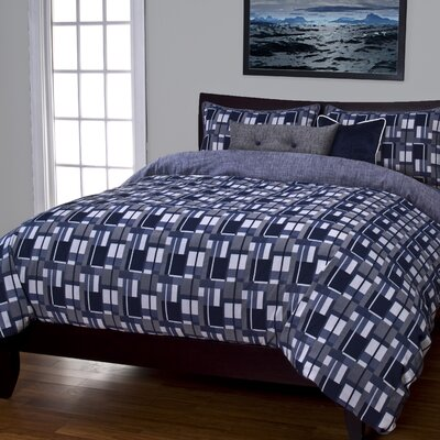 Anthonys Warf Duvet Cover Set Size: California King, Color: Blue