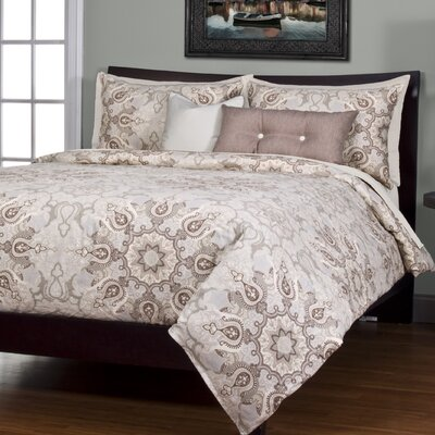 Arrington Paddington Duvet Cover Set Size: California King